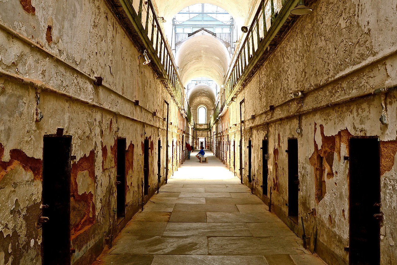 eastern state penitentiary first floor
