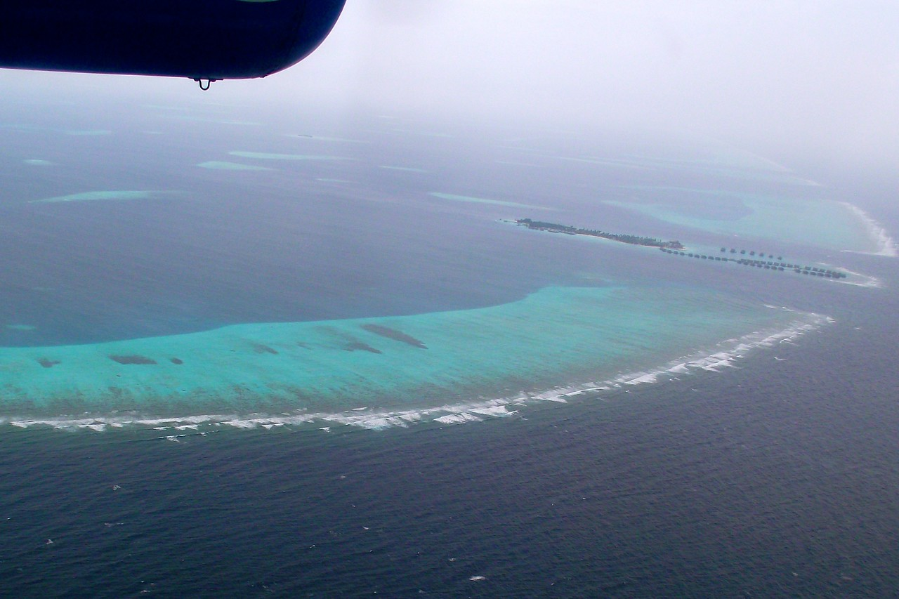 maldives island seaplane overview