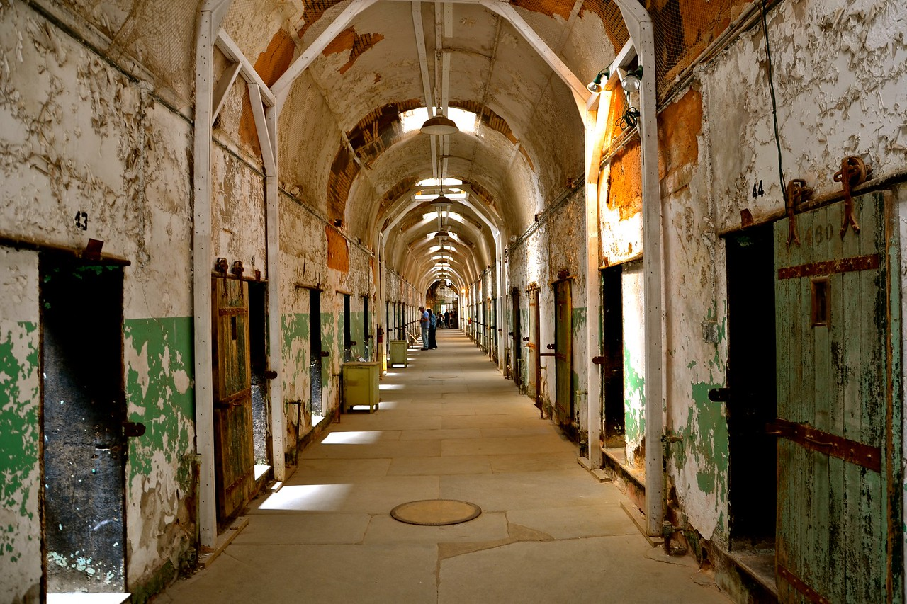 eastern state penitentiary hall